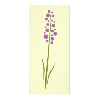 Lavendel-Blume Werbekarte