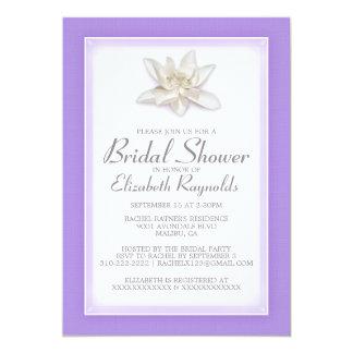 Lavendel-Brautparty-Einladungen 12,7 X 17,8 Cm Einladungskarte