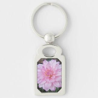 Lavendel-Dahlie-Blume Schlüsselanhänger