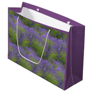 Lavendel-Geschenk-Tasche - groß, glatt Große Geschenktüte