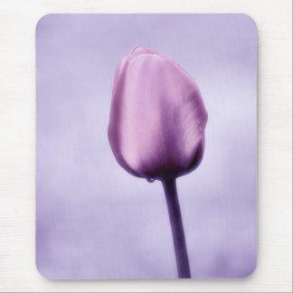 Lavendel-lila Tulpe Romance Mauspad