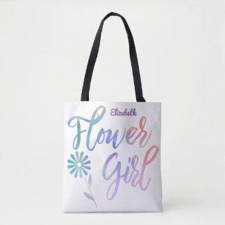 Lavendel-Regenbogen-Blumen-Mädchen mit Namen