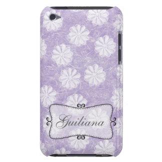 Lavendel-Reis-Papier mit Blumen iPod Case-Mate Hülle