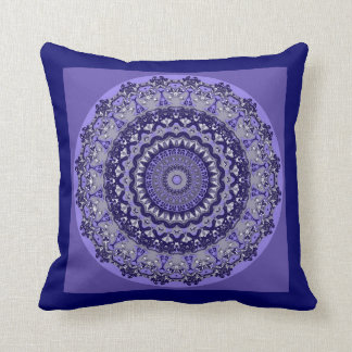 Lavendel-TraumMandala-Kissen Kissen