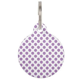 Lavendel-Tupfen Tiermarken
