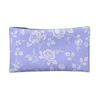 Lavender_Retro_Floral (c) Fabric_Sueded_Bag Kosmetiktasche