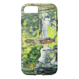 Leben auf den Gebieten, c.1875 (Öl auf Leinwand) iPhone 8/7 Hülle