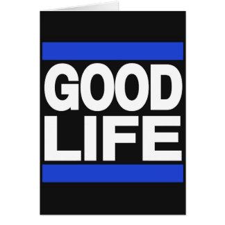 Leben-Blau Karte