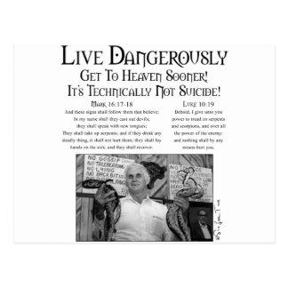 Leben gefährlich 2 postkarte