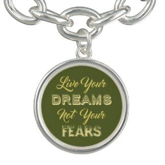 Leben Ihr kundenspezifischer Charme/-armband der Charm Armband