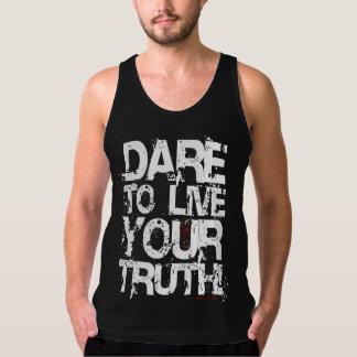 Leben Ihre Wahrheit! Tank Top