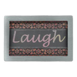 Leben Lachen-Liebe Rechteckige Gürtelschnallen