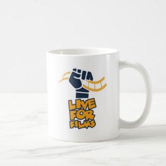 Leben Sie für Film-Faust-Logo Tasse