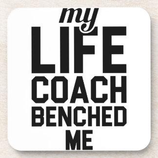 Leben-Trainer Benched mich Untersetzer