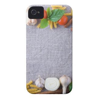 Lebensmittelinhaltsstoffe sind als Rahmen iPhone 4 Case-Mate Hüllen