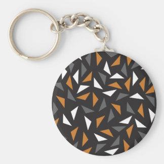 Lebhafte Dreiecke Schlüsselanhänger