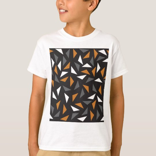 Lebhafte Dreiecke T-Shirt