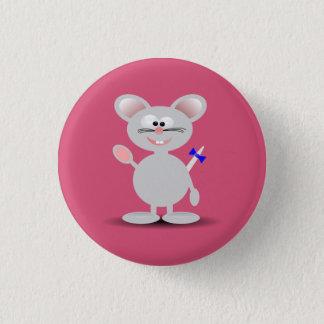 Lebhafte Maustaste Runder Button 3,2 Cm