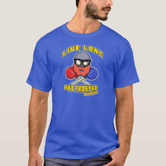 Lebhaftlange und erweitern sich, Sauger! T-Shirt