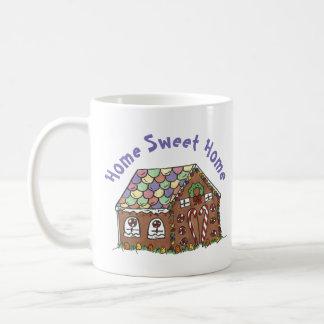 Lebkuchen-Haus-Zuhause-süßes Tasse