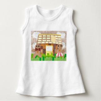 Lebkuchen-Paar-Baby-Kleid Kleid