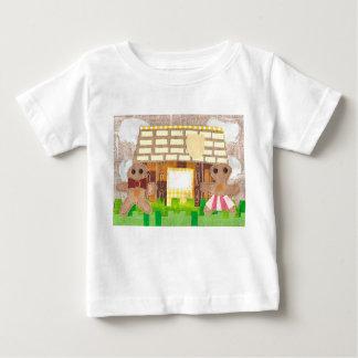 Lebkuchen-Paar-Baby-T - Shirt