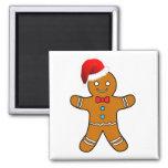 Lebkuchenmann am Weihnachten Magnete