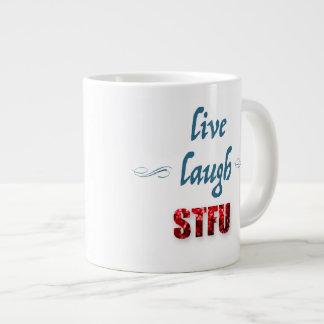 Lebt Lachen… Tasse Jumbo-Tassen