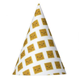 Leckere Waffel Partyhütchen