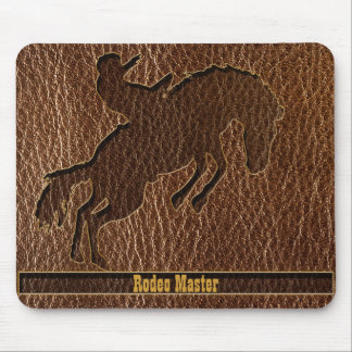 Leder-Blick Rodeo Mauspad