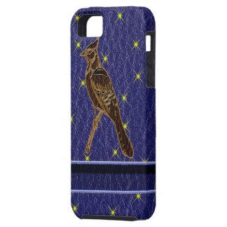 Leder-Blick Ureinwohner-Tierkreis-Specht iPhone 5 Schutzhüllen