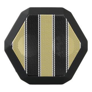Lederfarbener und Schwarz-Gestreifter Bluetooth Schwarze Bluetooth Lautsprecher