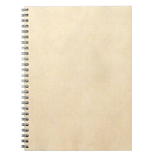 Lederne Pergament-Schablone Vintages Notizbuch