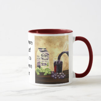 Lediglich Traubensaft-Tasse Tasse
