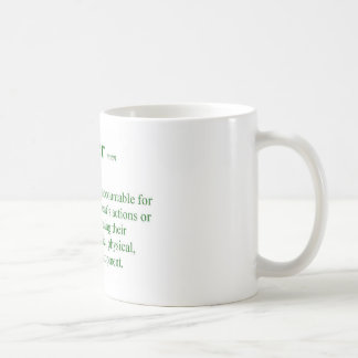 Lehrer-Definition Kaffeetasse