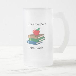 Lehrer-mattierte Tasse