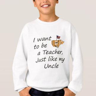 Lehrer mögen Onkel Sweatshirt