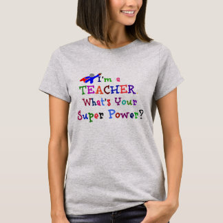 Lehrer-Superheld T-Shirt