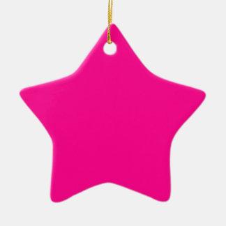 Leidenschaft P23 für Rosa! Magentarote Farbe Keramik Ornament