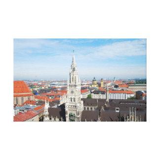 Leinwand-Druck Münchens, Deutschland Leinwanddruck