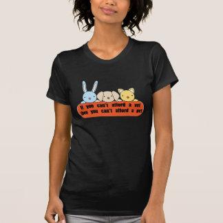 Leisten Sie sich Tierarzt sich leisten Haustier T-Shirt