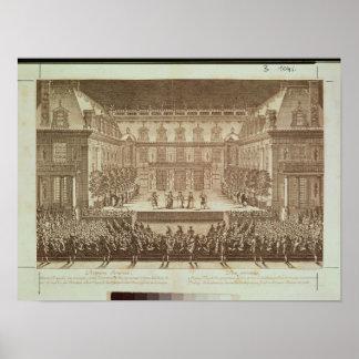 Leistung der Oper 'Alceste Poster