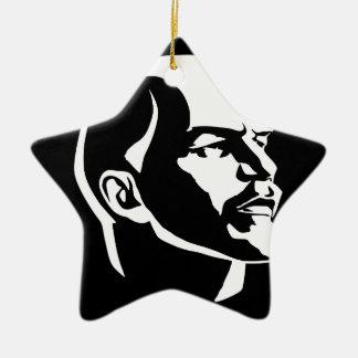 Lenin-großer Bruder Keramik Ornament