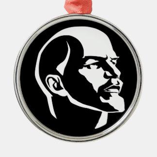 Lenin-großer Bruder Silbernes Ornament