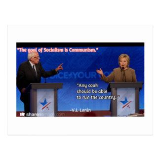 Lenins Debatte Postkarte