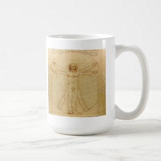 Leonardo da Vinci , Vitruvian Man Tasse