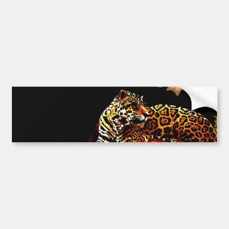 Leopard Autoaufkleber