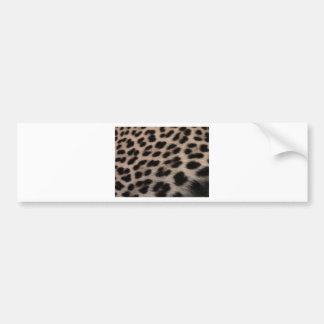 Leopard-Druck-Hintergrund Autoaufkleber