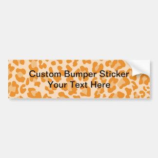 Leopard-Druck-Muster - personifizieren Sie Autoaufkleber