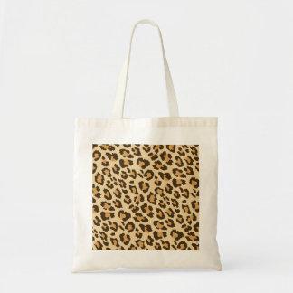 Leopard-Druck-Taschen-Tasche Tragetasche